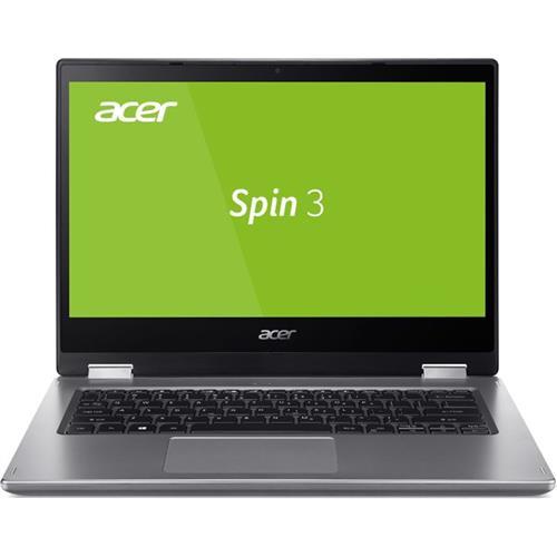 Acer Spin 3 - 14T''/i3-8145U/4G/256SSD/W10 strieborný + stylus NX.HDBEC.002