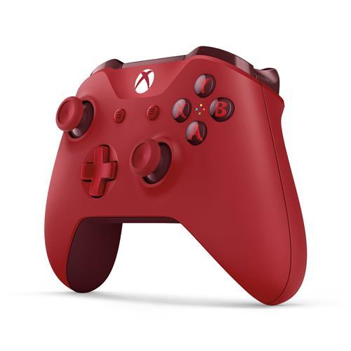 XBOX ONE - Bezdrôtový ovládač Xbox One S červený [Eddy] WL3-00028
