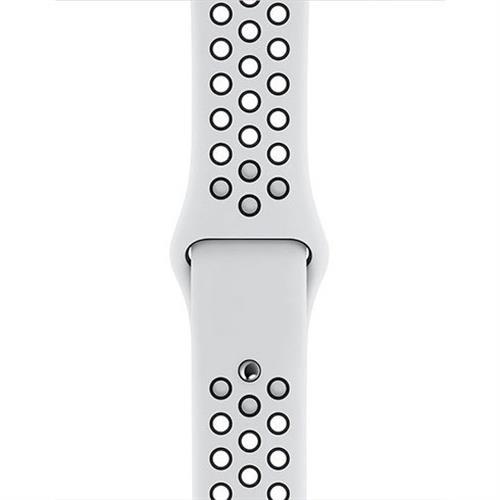 Apple Watch 40mm Pure Platinum/Black Nike Sport Band - S/M & M/L MX8D2ZM/A
