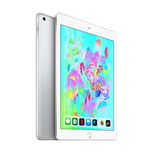 Apple iPad 128GB Wi-Fi + Cellular Silver (2018) MR732FD/A