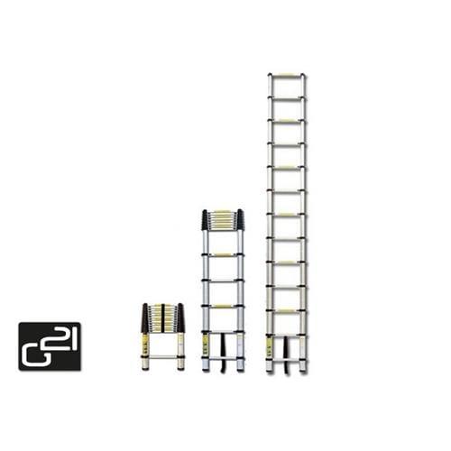 Teleskopický rebrík G21 GA-TZ9-2,6M hliníkový