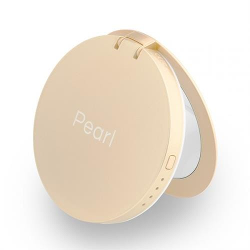 Hyper Pearl make-up mirror & powerbank - zlatá HY-PL3000-GOLD