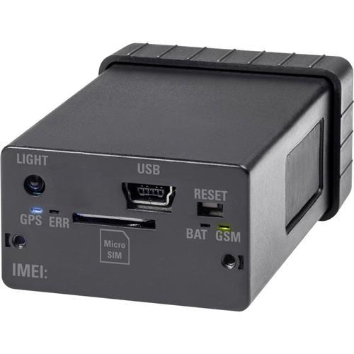 Mini GSM alarm s GPS lokátorom Renkforce GX-111 RF-3506043 čierna 1168681