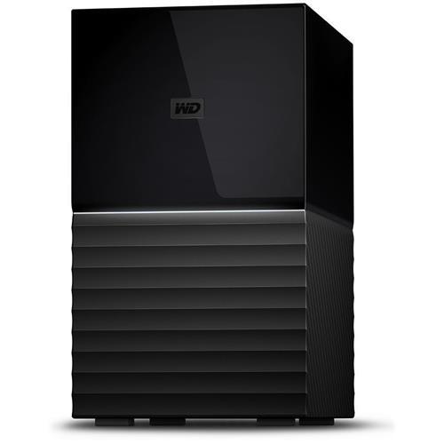 "Ext. HDD WD My Book DUO 24TB Ext. 3.5"" USB3.0 (dual drive) RAID WDBFBE0240JBK-EESN"