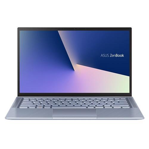 """ASUS Zenbook UM431DA-AM001T AMD R5-3500 14"""" FHD matný UMA 8GB 256 SSD FPR WL BT Cam W10 strieborný"""