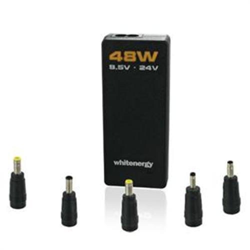 Whitenergy 48W Univerzálny AC adaptér pre netbooky 5 konc. 06568