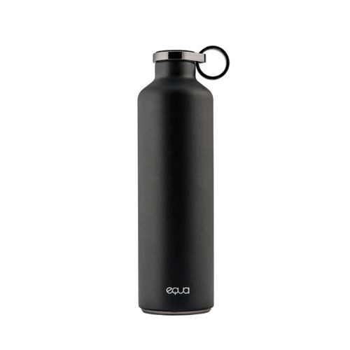 Equa Smart – smart fľaša, oceľ, mramor, Dark Grey EQ-BDG-S