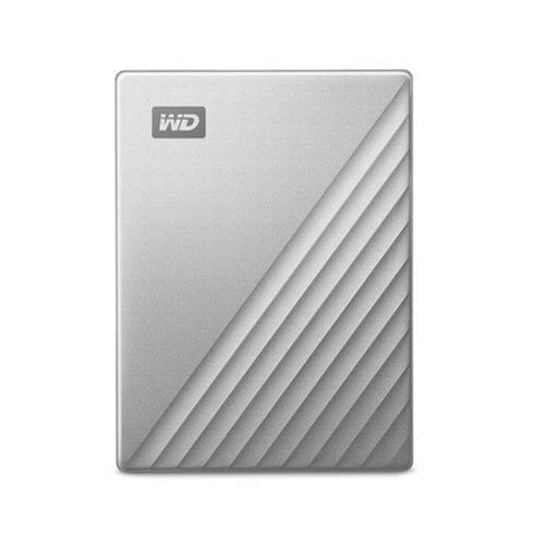 Ext. HDD WD My Passport Ultra 1TB, 2,5'', strieborná WDBC3C0010BSL-WESN