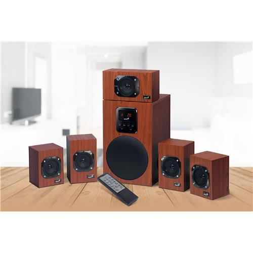 Speaker GENIUS SW-HF5.1 4800 II, 125W 31730017400