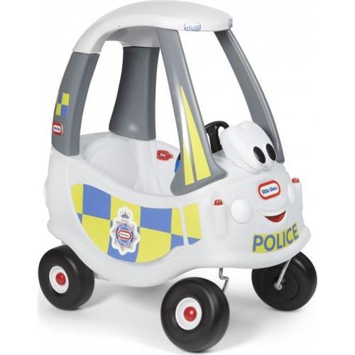 Little Tikes Cozy Coupe White Police 173790000