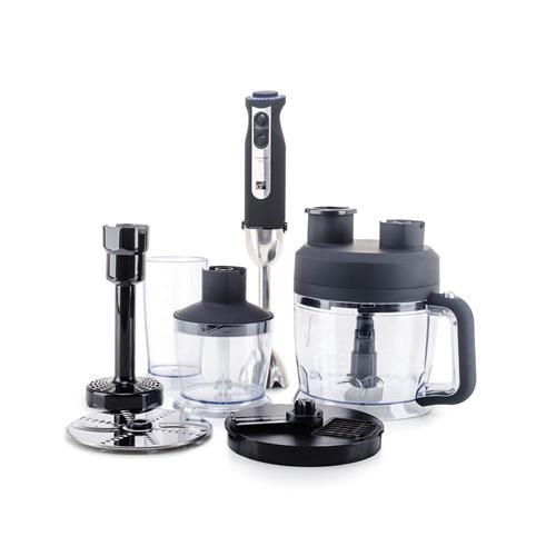 Set G21 mixér VitalStick Pro 1000 W s Food Processorem, Black G21-VTFD1000BK