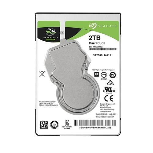Pevný Disk Seagate BarraCuda 2TB, 2,5'', 128MB, SATAIII, 5.4k ST2000LM015