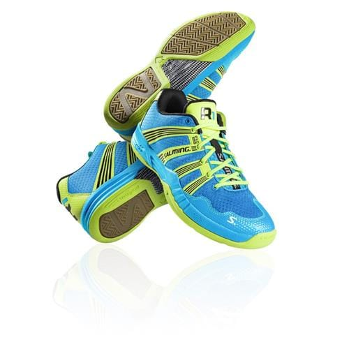 SALMING Race R1 2.0 Blue/Yellow 9,5 UK, 44 2/3 EUR