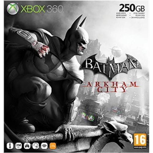 XBOX 360™ S Premium Value Bundle 250GB Batman