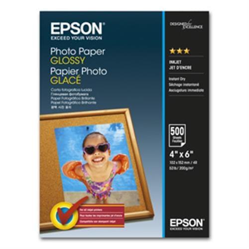 Papier EPSON S042549 photo glossy 10x15, 500ks, 200g/m2 C13S042549