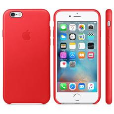 Apple iPhone 6S Leather Case (PRODUCT) RED