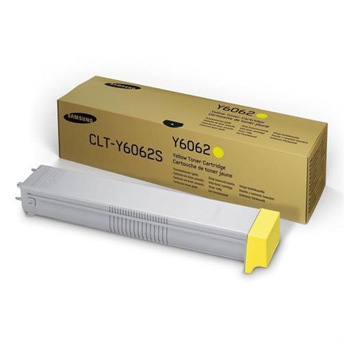 SAMSUNG CLT-Y6062S Yellow Toner Cartridge SS706A