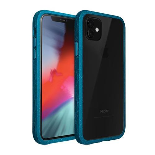 LAUT Crystal Matter – Impact Resistant Case for iPhone 11, Indigo LAUT-IP19M-CM-MB