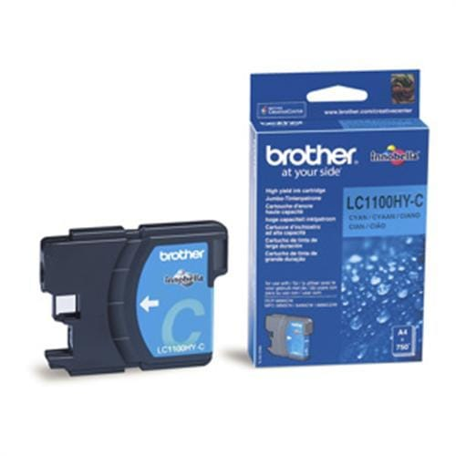 Kazeta BROTHER LC-1100 Cyan HY MFC-6490CW/DCP-6690CW