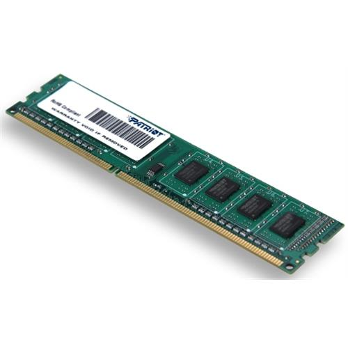 4GB DDR3 1333MHz Patriot CL9 single rank
