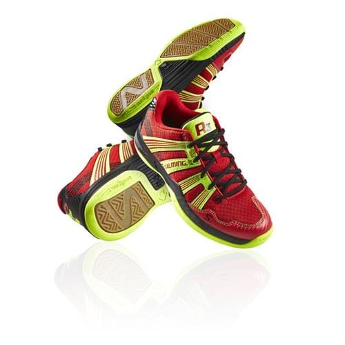 SALMING Race R3 JR 3.0 Red/Safety Yellow 3,5 UK, 36 EUR