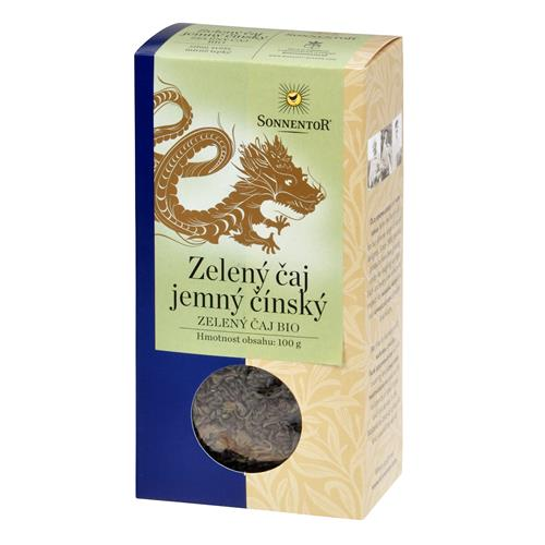 Čaj zelený jemný čínsky sypaný 100 g BIO SONNENTOR 510036