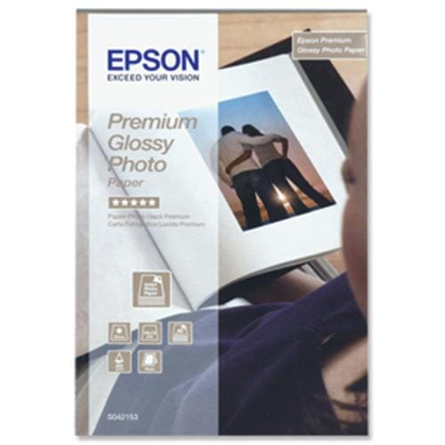 Papier EPSON S042153 Premium glossy photo 255g/m2, 10x15, 40ks C13S042153