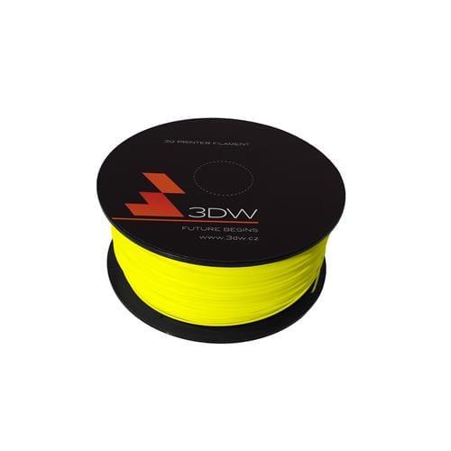 3DW PLA struna 2,9 mm pre 3D tlačiareň, 1kg, žltá D12302