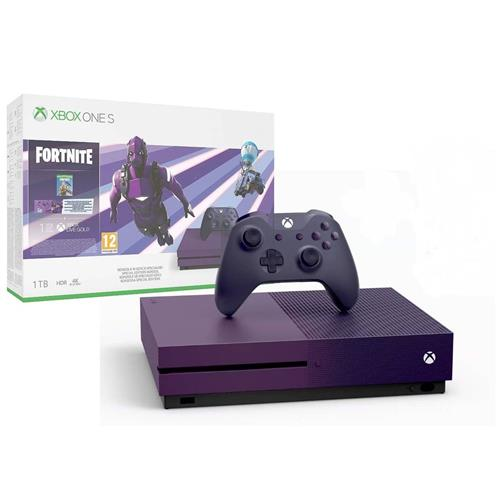 XBOX ONE S 1 TB + Fortnite Battle Royale Special Edition (Violet Colour) 23C-00089