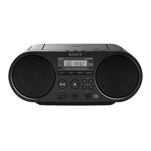 Sony mp3/CD/Radio prehrávač ZS-PS50CP, čierny ZSPS50B.CET