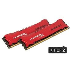 Kingston 16GB DDR3-1600MHz CL9 Savage XMP, 2x8GB
