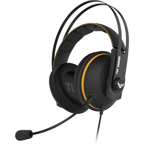 ASUS TUF GAMING H7, Yellow, gaming headset 90YH01MY-B8UA00