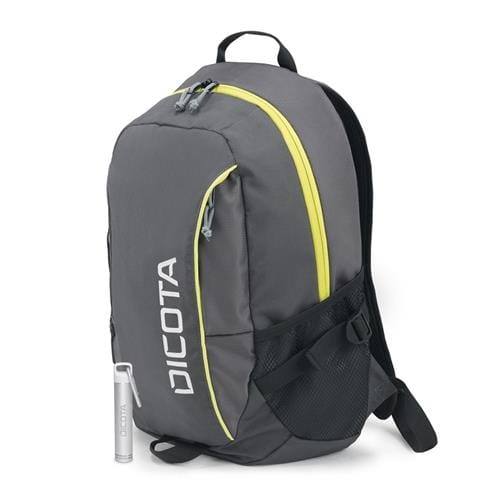 Batoh Dicota Backpack Power Kit Premium 14''-15,6'', šedý + Power Bank