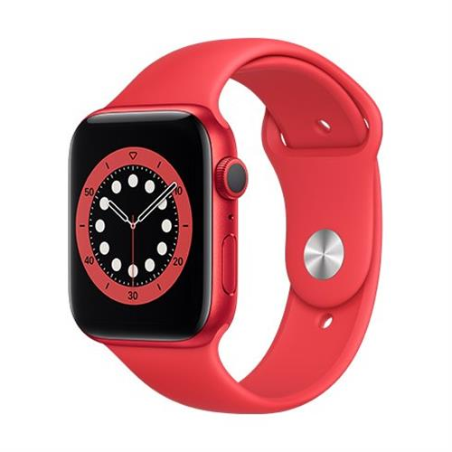 Apple Watch Series 6 GPS, 44mm PRODUCT(RED) Aluminium Case with PRODUCT(RED) Sport Band - Regular M00M3VR/A