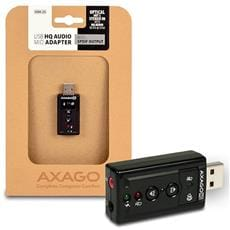 AXAGO USB2.0 - HQ audio adapter 96kHz S/PDIF out