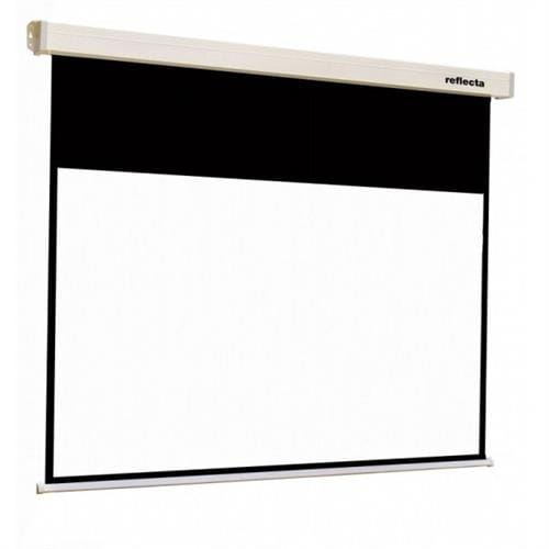 87700-Reflecta plátno Crystal-Line Rollo 160x130 cm, (viewing area 156x88), 4 black borders, 16:9