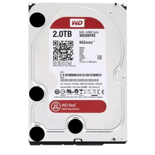 """Pevný Disk WD Red 2TB, 3,5"""", 64MB, IntelliPower, SATAIII, WD20EFRX"""