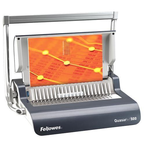 Viazač Fellowes Quasar + 500 /22 listov/ 80g/50 listov/hrebeň do 50mm FELQUASARPLUS