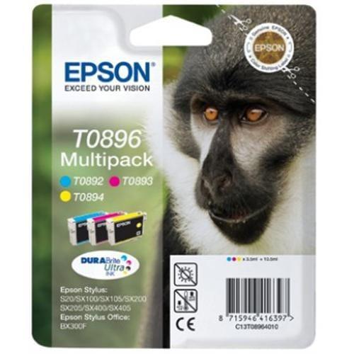 Kazeta EPSON S20/SX105/SX205/SX218/SX405/BX300F color multipack C13T08954010
