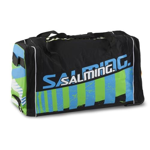 SALMING Wheelbag INK, 170L-34, SR, Black/Lime, 2 wheel