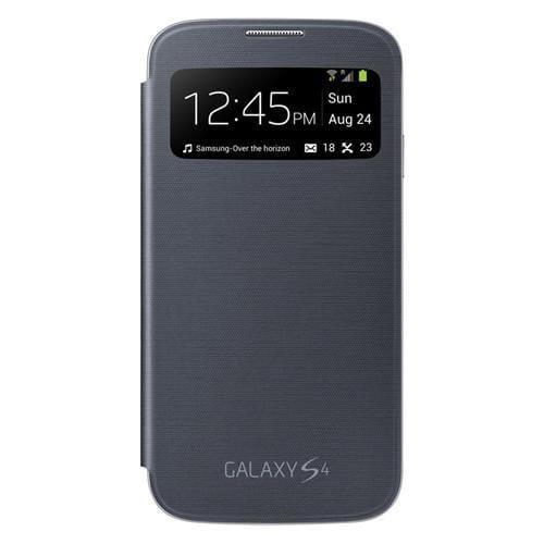 Samsung flipové puzdro S-view EF-CI950BB pre Galaxy S IV (i9505), čierne EF-CI950BBEGWW