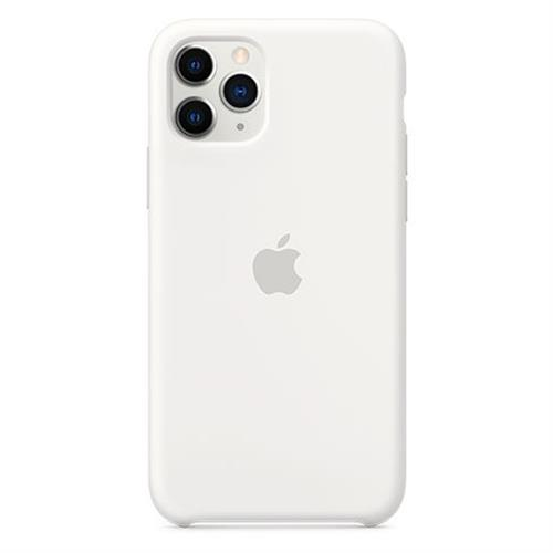 Apple iPhone 11 Pro Silicone Case - White MWYL2ZM/A