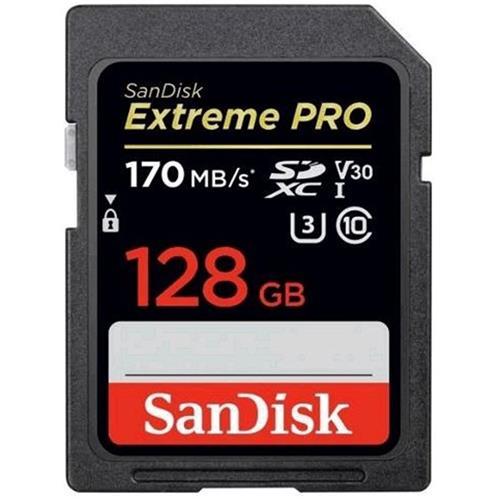 SanDisk Extreme Pro SDXC 128GB 170MB/s V30 UHS-I SDSDXXY-128G-GN4IN
