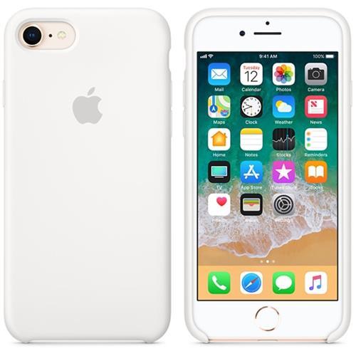 Apple iPhone 8 / 7 Silicone Case - White MQGL2ZM/A