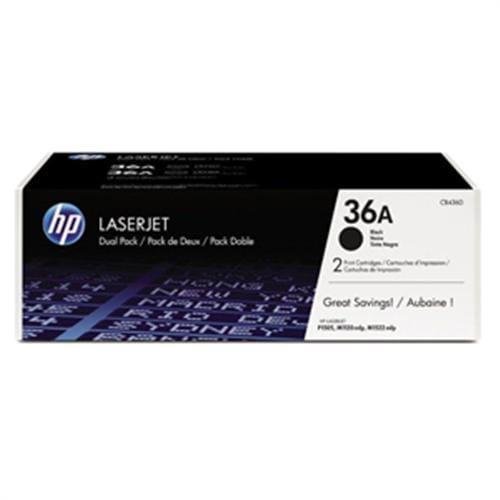 Toner HP CB436AD DualPack Čierny pre LJ P1505 (dvojité balenie)