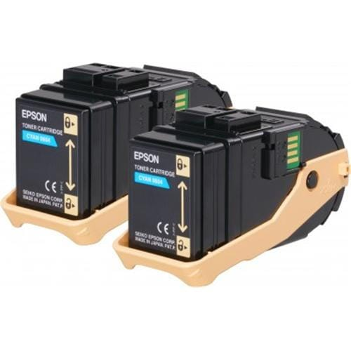Toner EPSON Aculaser C9300 cyan double pack 2x 7500str.