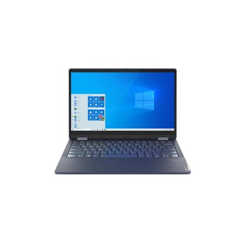 """Lenovo IP YOGA 6 13 Ryzen 5 4500U 13.3"""" FHD TOUCH lesklý UMA 16GB 512GB SSD FPR W10 modrý 2y PC 82FN004GCK"""