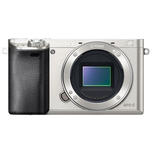 Sony A6000, len telo, 24,3Mpix, strieborná ILCE6000S.CEC