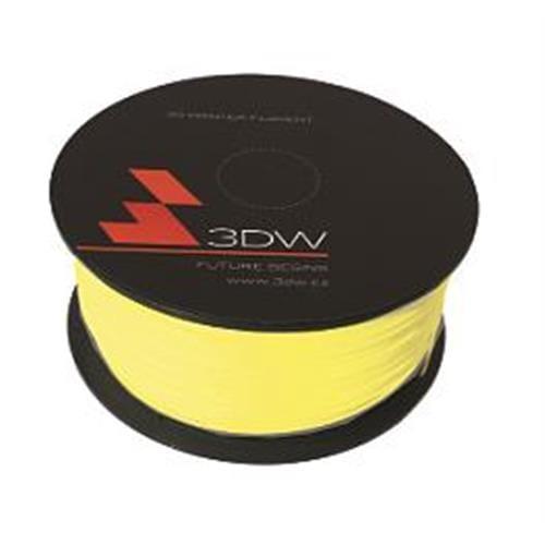 3DW HiPS struna 1,75 mm pre 3D tlačiareň, 1kg, žltá D16102