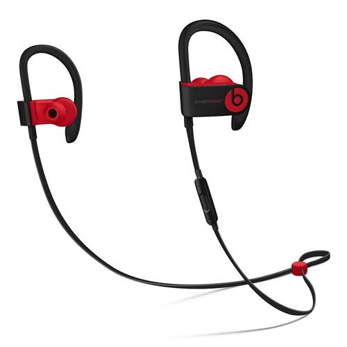 Beats Powerbeats3 Wireless Earphones - The Beats Decade Collection - Defiant Black-Red mrq92ee/a